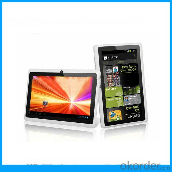 Boxchip A13 Tablet 512Mb/4Gb 7 Inch Q88 Tablet Manufacturer High Quality