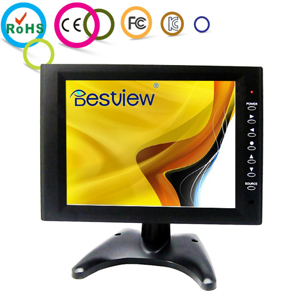 Color Monitor 10&Quot; LCD Display