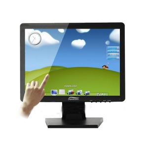 Hot 15 Inch Led Lcd Tft Resisitive Touch Monitor With Vga Hdmi