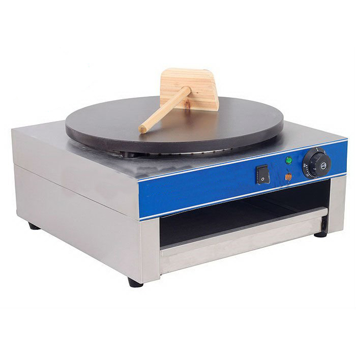 Single Plate Electric Crepe Equipment 400mm