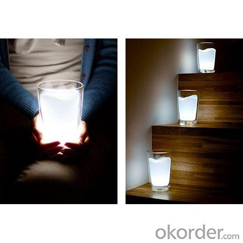 Colorful Led Milk Cup Lamp