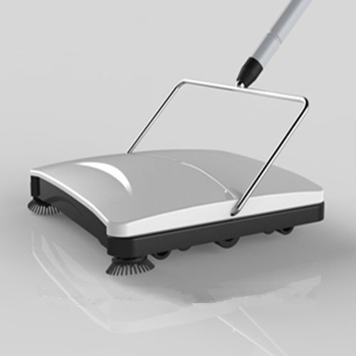 Carpet Sweeper With Double Rollers
