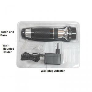 1w rechargeable Hotel flashlight, torch light for hotel room
