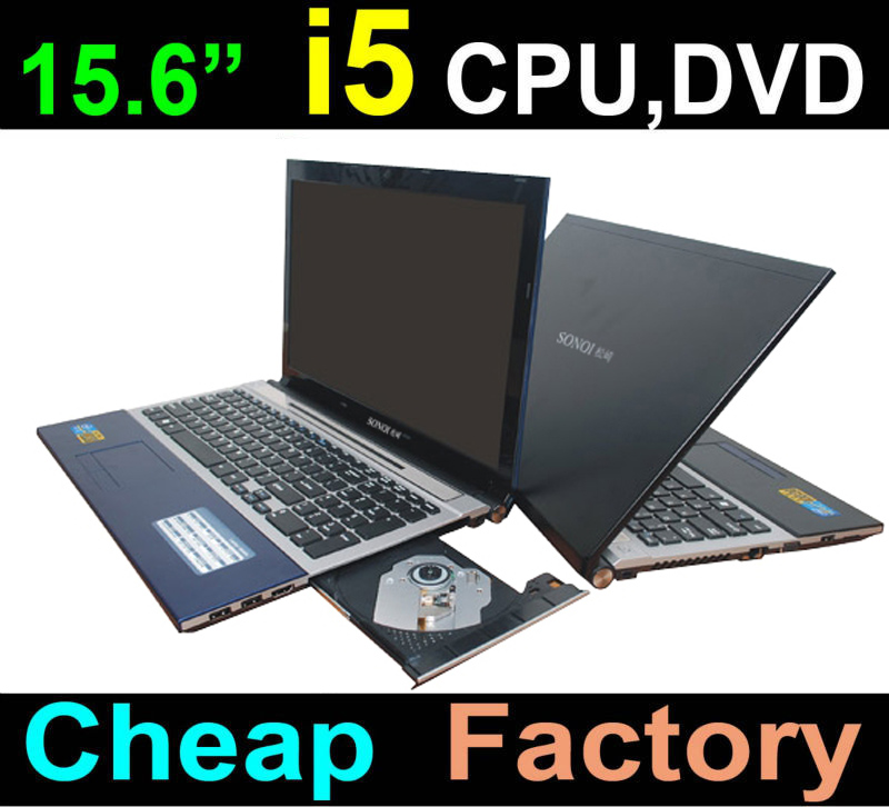 Cheapest 15.6 inch i5 laptop with DVD-RW 4Gram 320G-500G HDD