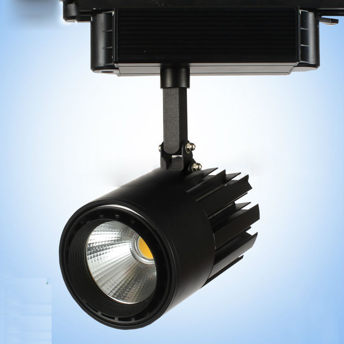 2014 New Design 3 Phase Dimmable 30W Cob Led Track Light 30W - 40W