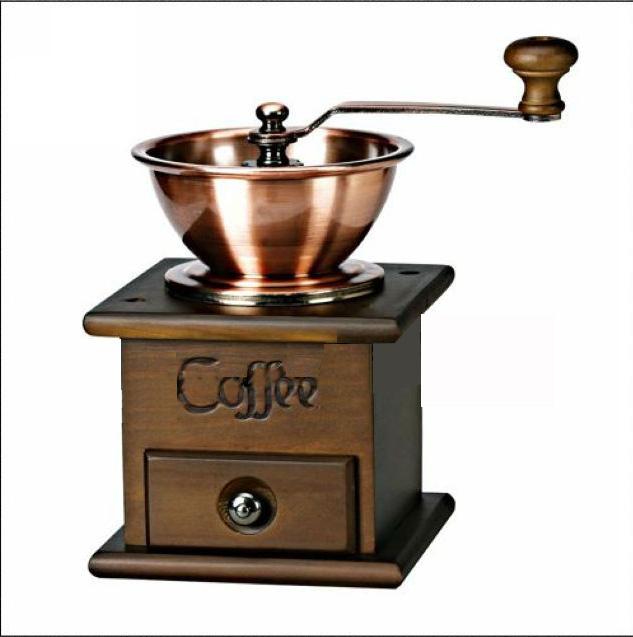 B026 Yami Wooden Manual Coffee Bean Grinder