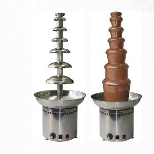 7 Tiers Commercial Chocolate Fountain