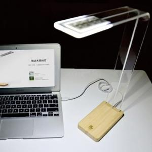 Bamboo Touch Table Lamp Bamboo Table Lamp Usb Led Touch Desk Lamp