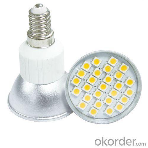 230V 27 Smd 5050 120Degree Aluminum Spotlight 4W Led Lamp E14