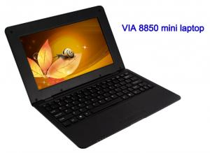 2013 hottest mini laptop 10 inch Android 4.0 VIA 8850 Cortex A9 1.5GHZ HDMI &;WIFI &; Camera