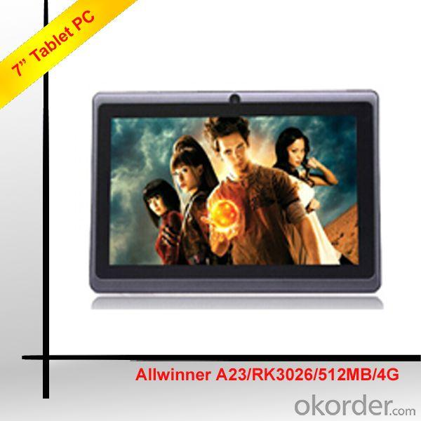 7 Inch Android Tablet,Allwinner A23 Tablet, Tablet 7 Inch China Factory