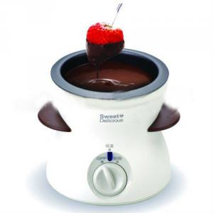 25W Chocolate Dipper,Chocolate Fondue Set With Teflon Bowl,Ce,Gs,Rohs Approval