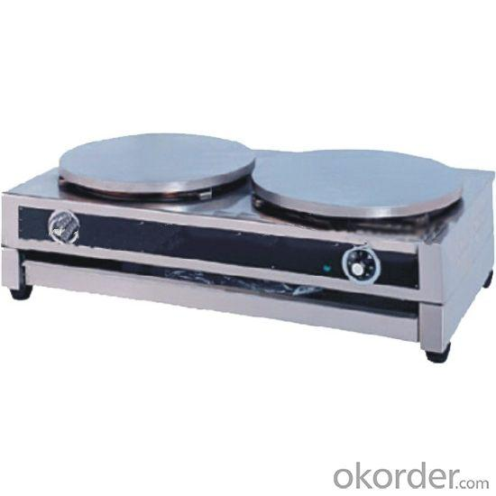 Crepe Maker Double Plates CE Approval