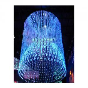 Dim 190Mm Beautiful Varied Fiber Optic Chandelier