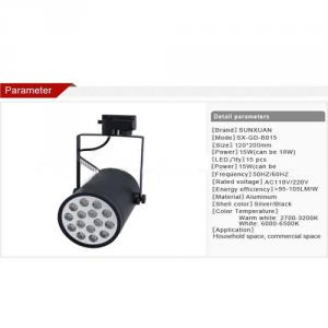 New Design High Lumens 15W Led Track Light