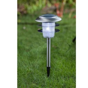 Hj-8230 Stainless Steel Solar Lawn Light By Professional Manufacturer