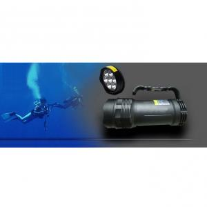 Deep Sea 4500lumen Rechargeable 7 Cree Xml Led T6 Diving Flashlight