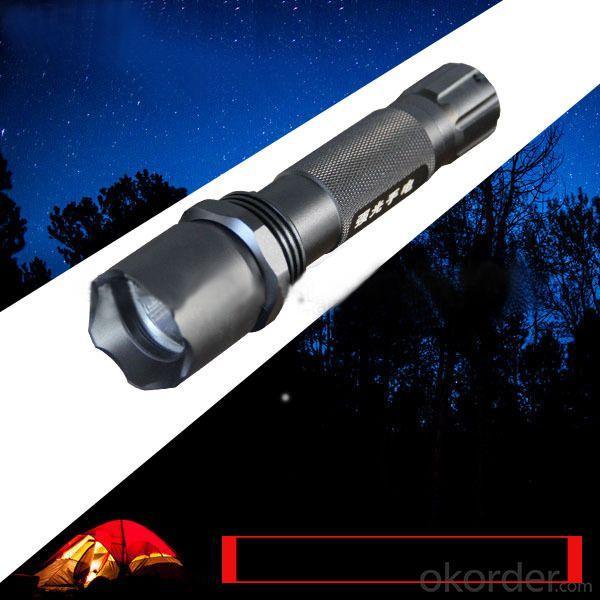 2200mAh 3.7v Rechargeable Led Flash Light