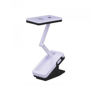 Clip-On Foldable Reading Table Lamp Led
