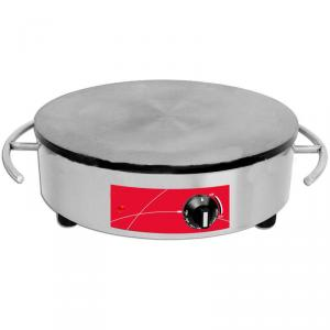 Stainless Steel Electric Crepe Maker with Thermostat Control