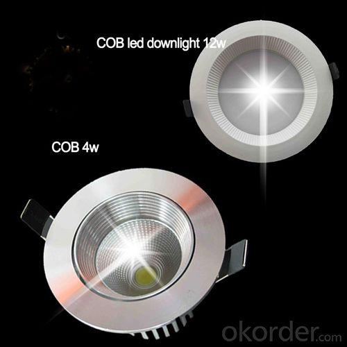 2014 Hot Selling 12w Led Downlight COB SAA Approved