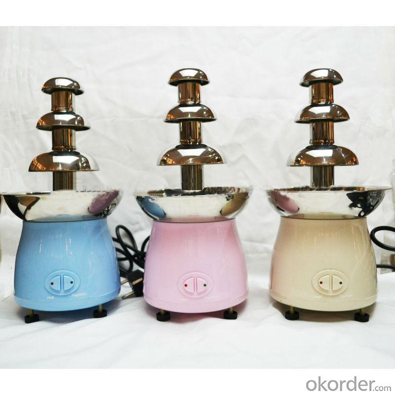 Colourful Mini Chocolate Fountain (Home Use)