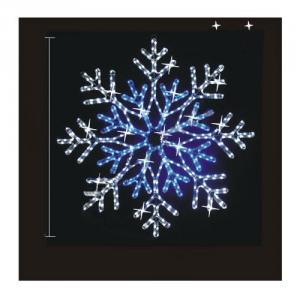 Ac100V Led Rope Light Multi Color Blue Snowflake Led Motif Light