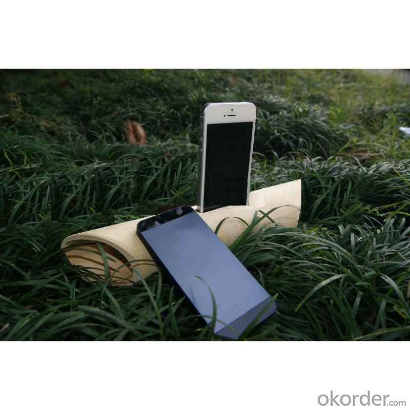 Eco-friendly Bamboo Iphone Speaker suitable for iPhone4/4s and iPhone5