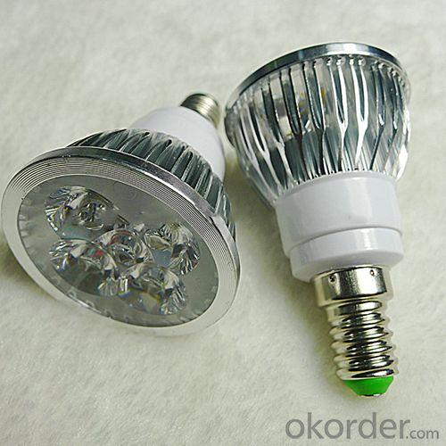 4W E27 Cool White Led Spotlight Bulb Light Lamp ,Epistar Chip With 2 Years Warranty