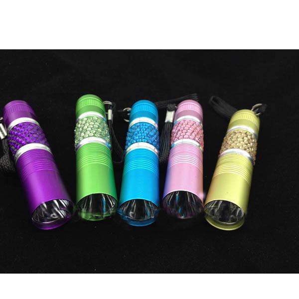 personal bling mini led flashlight
