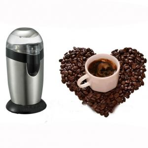 Stainless Steel Electric Coffee Grinder Coffee Machine