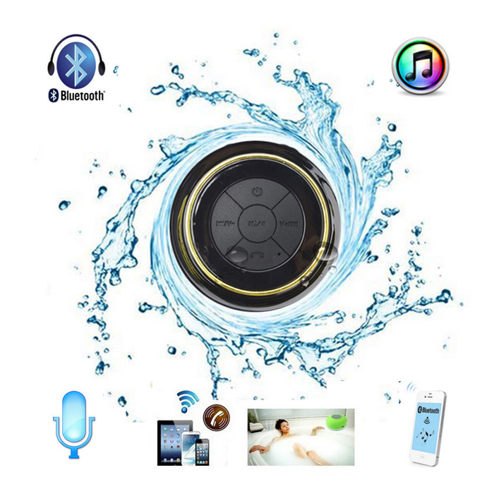 2014 Newest Waterproof Wireless Bluetooth Shower Speaker
