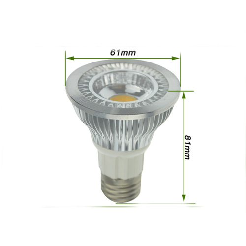 High Lumen 6W 600Lm Dimmable Par20 Cob Led Spotlight Bulb Approved 3 Year Warranty