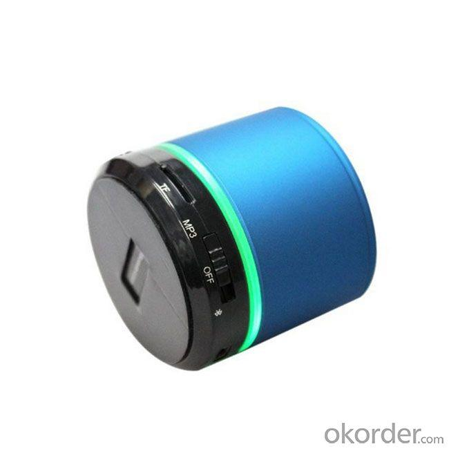 Hands-Free Portable Bluetooth Speaker With Tf Card Support
