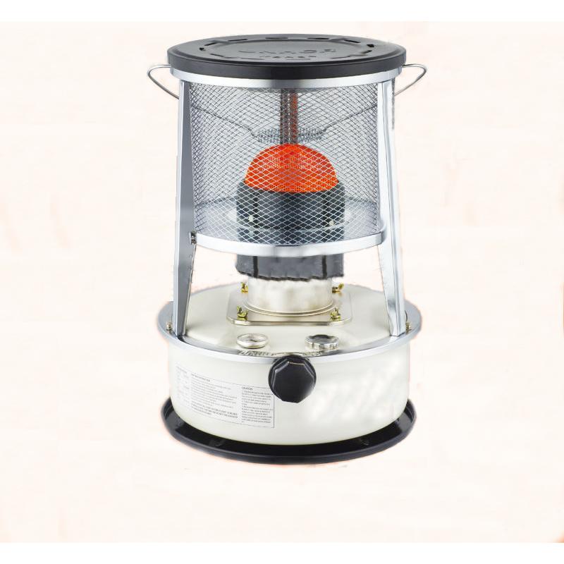 Kerosene Heater with Metal Chimney Safety Triple Tank 5.3L