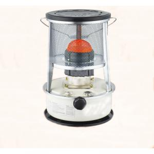 Kerosene Heater with Metal Chimney Safety Triple Tank 5.3L