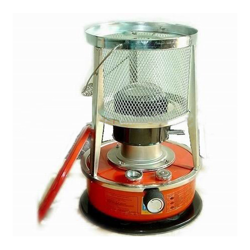 Kerosene Heater with Metal Chimneys and Fiberglass Wicks
