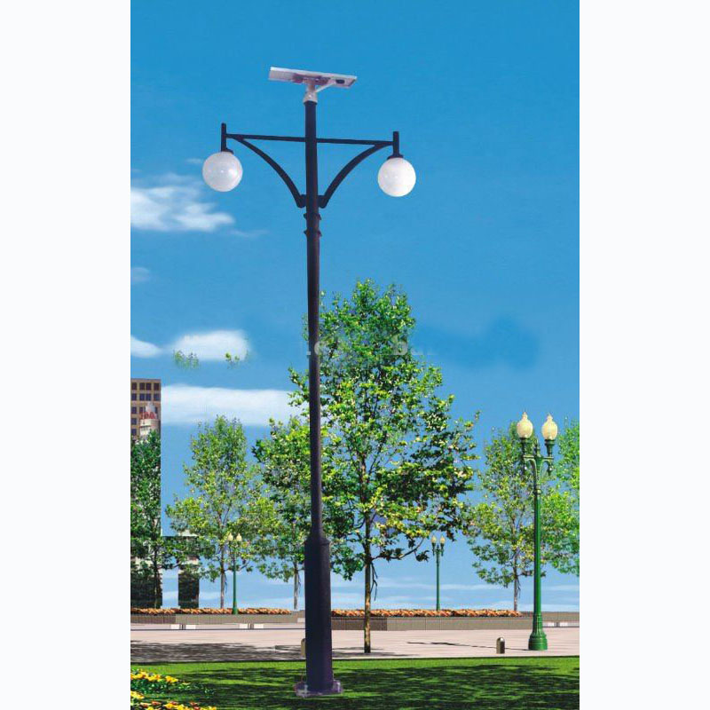 2014 New High Quality Hot Sale 14W LED Solar Garden Light From China Factory