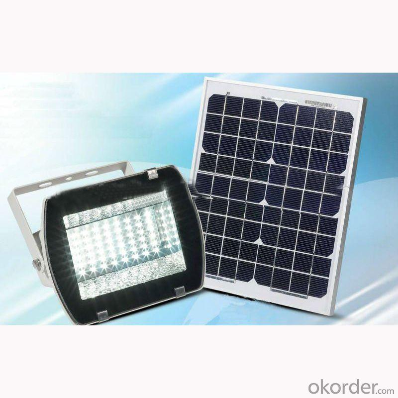 5W Led Flood Light--Light-Depend Control,Solar Charge,Large Light Area