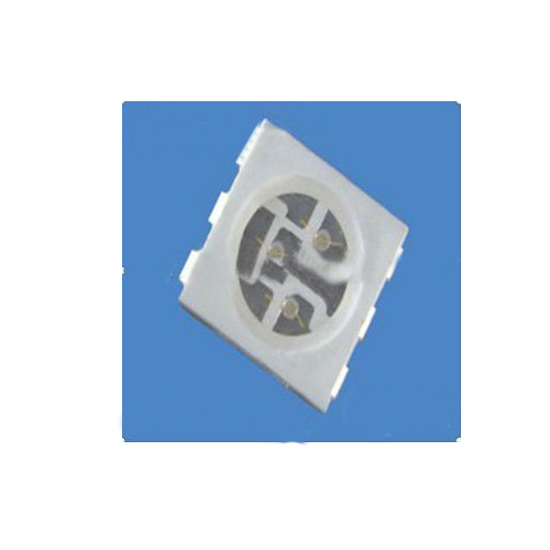 Ultra Bright White 5050 SMD LED Diode With 3 Chips ROHS Compliant