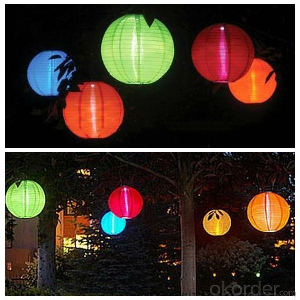 Hot Selling New 600Mah 0.4W Canvas LED Solar Garden Lights From China Manufacturer