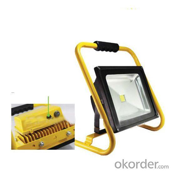 Rechargeable Portable Floodlights, 5W/10W/20W/30W/50W, Samsung Battery, Battery Powered Led Flood Lights