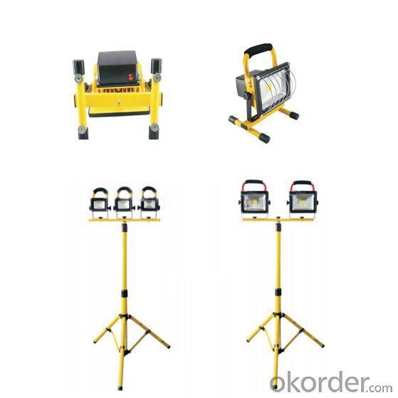 Ce Brigelux 3 Years Warranty Ip65 Portable Led Flood Light