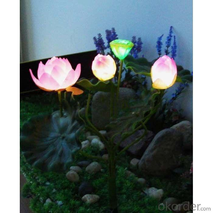 Solar Garden Light, Lotus Solar Light, Floating Solar Light By Professional Manufacturer