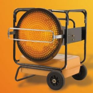 Fuel Heater for Warming and Baking