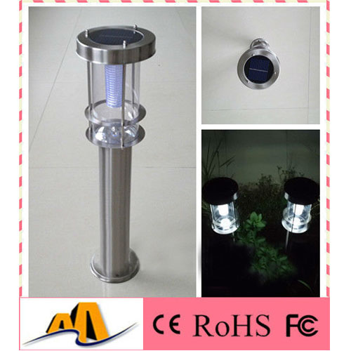 60CM Stainless Steel 0.5W Solar Lamp Garden From China Factory