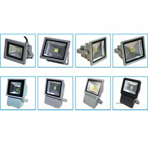 5 Years Warranty Ip66 Copper Pipe Heatsink 100W Led Flood Light