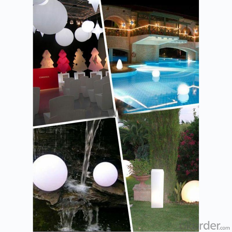 Rgb Color Changing Pool Floating Ball Light, Lighted Ball Light By Professional Manufacturer