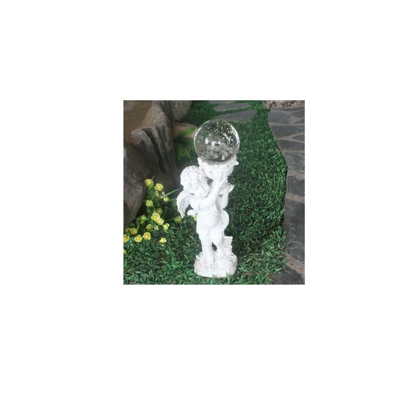Angel Solar Garden Light Resin