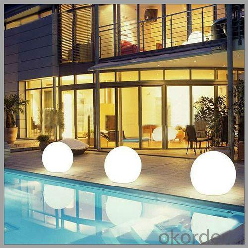 Waterproof LED Ball Light With 16 Color Change From China Manufacturer